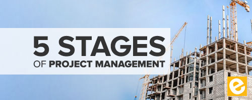 5 stages of project management